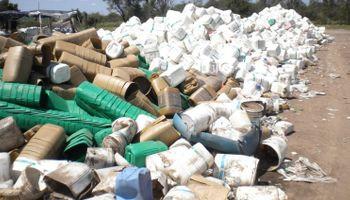 Se aprobó el proyecto de gestión de envases de fitosanitarios