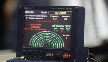 Diputados dio media sanción al proyecto sobre la renegociación de la deuda pública