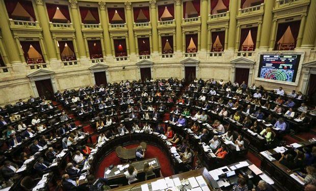 Votación en el Congreso de la Nación.