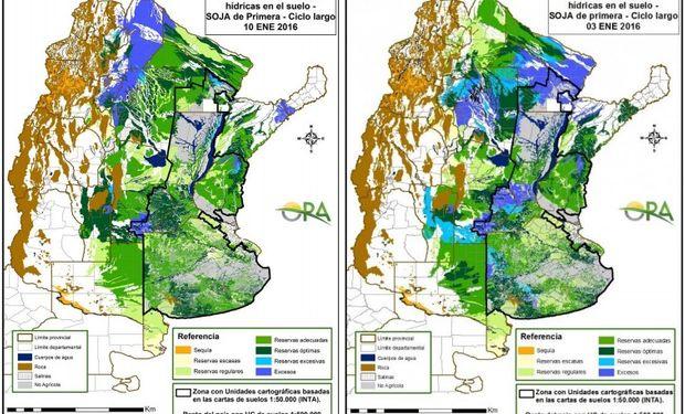 Soja: retroceso de excesos hídricos en el NEA