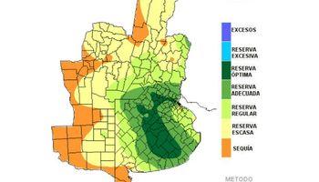 Reservas de humedad siguen retrocediendo por ausencia de lluvias