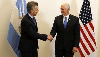 EE.UU. dio un fuerte respaldo a Macri y prometió abrir el comercio agrícola