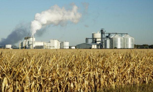 Capacidad de producción de etanol de Argentina no llega al 2% de la de Estados Unidos.