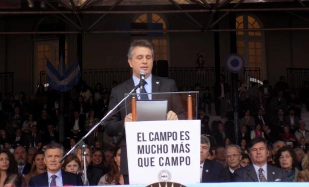 """""""Queremos un país próspero, productivo, competitivo y, ante todo, solidario"""", así lo expresó el presidente de la Sociedad Rural Argentina."""