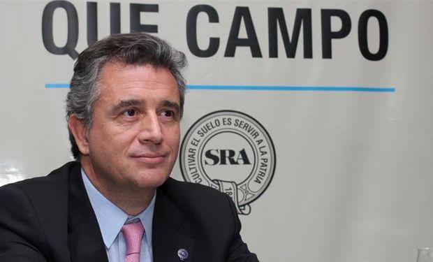 Luis Miguel Etchevehere, presidente de la SRA, aseguró que lo tomó por sorpresa su designación.