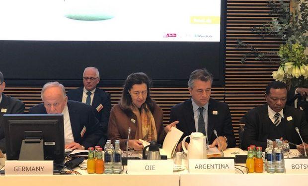 Participaron ministros y viceministros de 69 países y representantes de organizaciones internacionales.