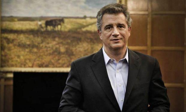 Ministro de Agroindustria Luis Miguel Etchevehere.