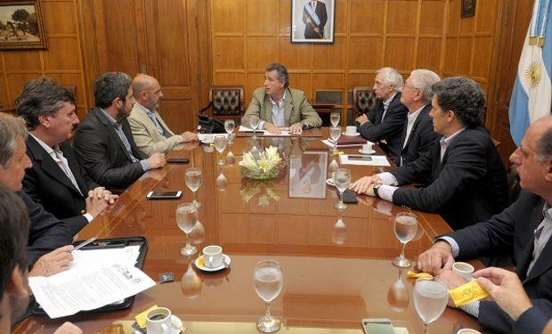 El ministro de Agroindustria reunido con la mesa de Enlace en Entre Ríos.