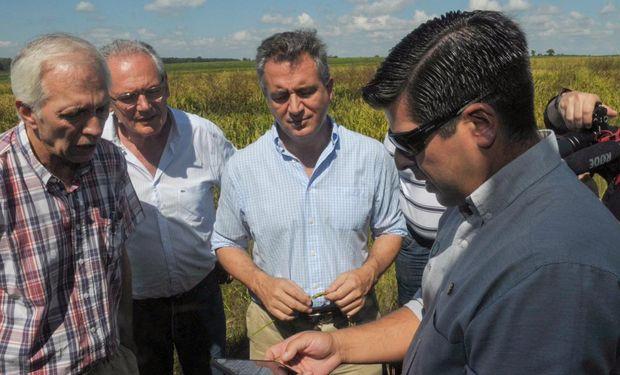 En Entre Ríos, realizan un ensayo experimental de riego con energía solar.