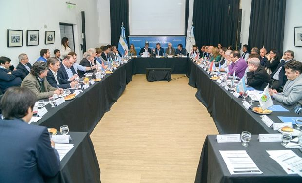 Reunión del Consejo Federal Agropecuario.