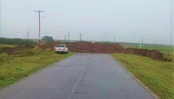 Productores aislados: Rodríguez Saá ratificó el cierre de rutas en San Luis