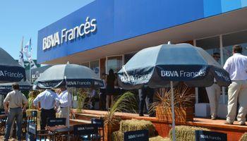 BBVA Francés acompañando al campo en Expoagro 2014
