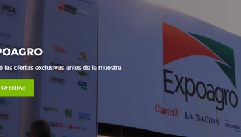 Las ofertas destacadas de Expoagro ponen primera en Agrofy
