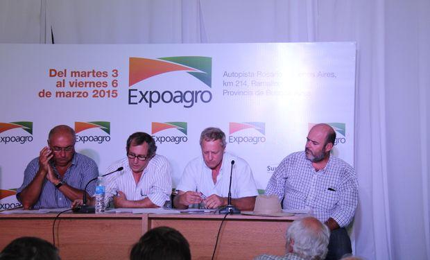 Las cadenas en Expoagro 2015.