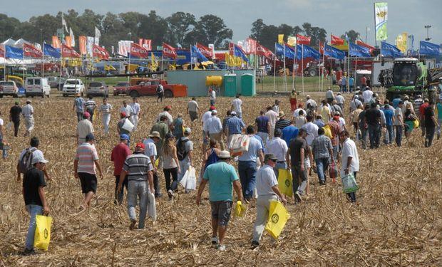 Las muestras dinámicas a campo congregan una gran cantidad de visitantes.