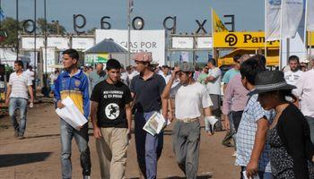 Las nuevas generaciones plantan bandera en Expoagro