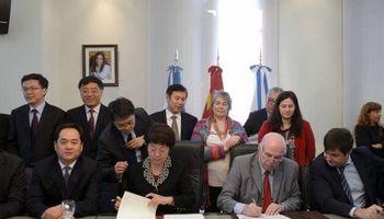 Comercio con China: se firmaron 4 protocolos