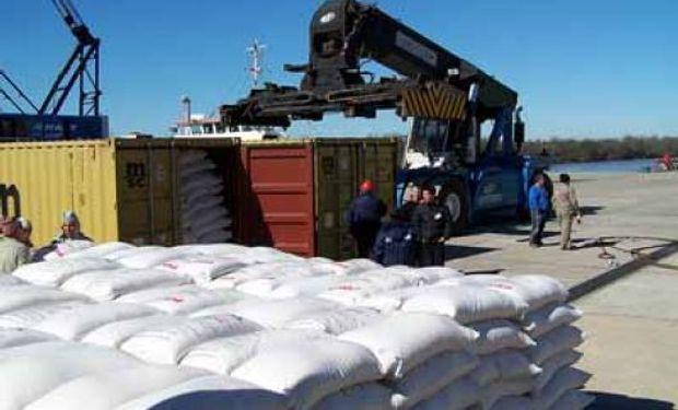 Crece la exportación argentina de arroz
