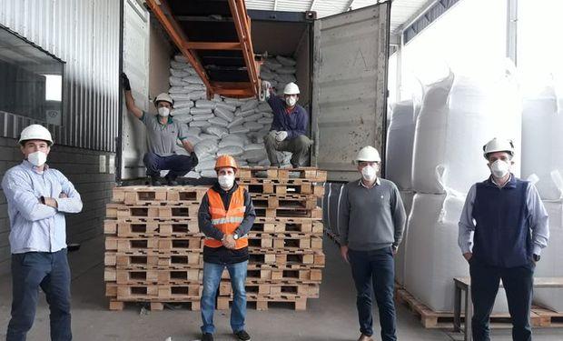 A menos de un mes de la firma del protocolo se concretó la primera exportación argentina de arvejas a China