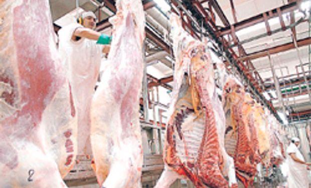 Cayó un 11% la exportación de carne