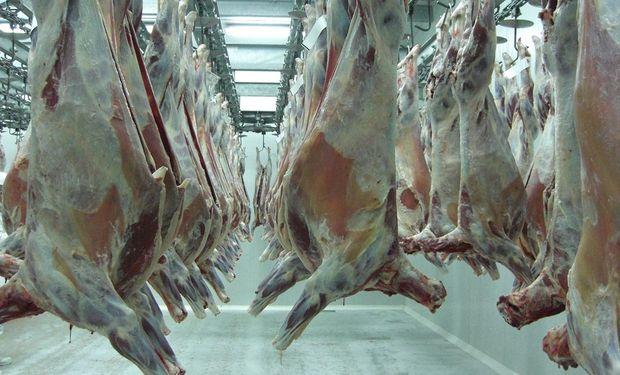 """Aguerre dijo que en su disertación """"adelantamos la estrategia de Uruguay, que es el camino de la intensificación sostenible y diferenciada con que promovemos la carne uruguaya""""."""
