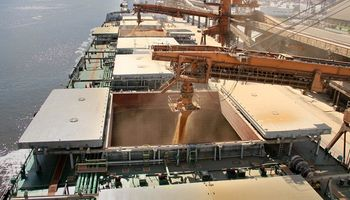 Crece la exportación de granos desde Brasil