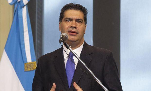 """Capitanich dijo que por """"expresa"""" orden de la mandataria se autorizaron nuevos cupos para la exportación de granos."""