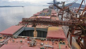 ¿La más grande del mundo? Brasil realiza una carga histórica de harina de soja