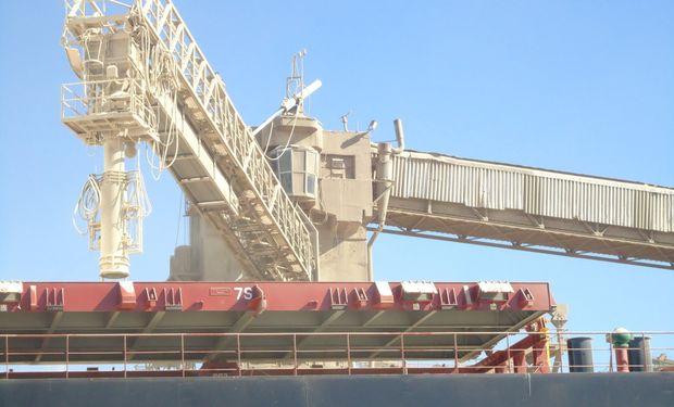 Al 13 del actual se embarcaron 6.545.000 toneladas del cereal.