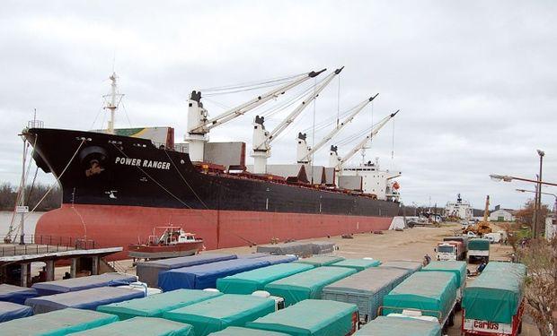 Entre Ríos embarca a Perú y Nicaragua y carne de pollo a Sudáfrica y China desde el puerto de Concepción del Uruguay.