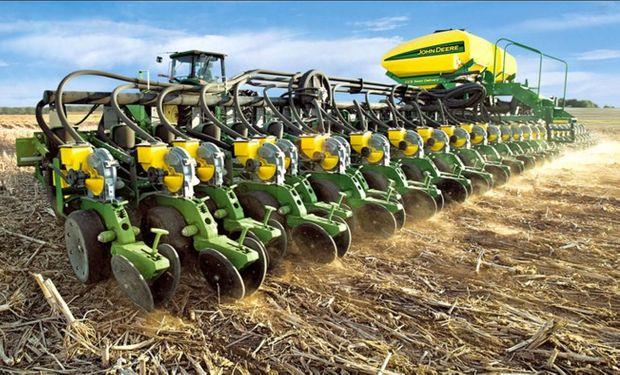 El principal destino de exportación de sembradoras en 2015 fue Bolivia.