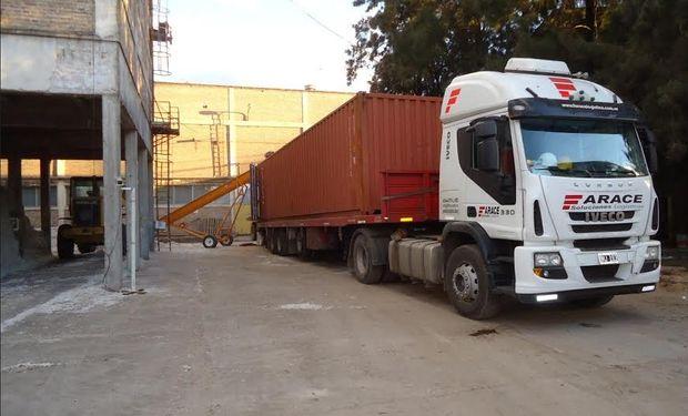 El contrato es por un total de 20 contenedores, el segundo envío se concretará en los próximos meses.