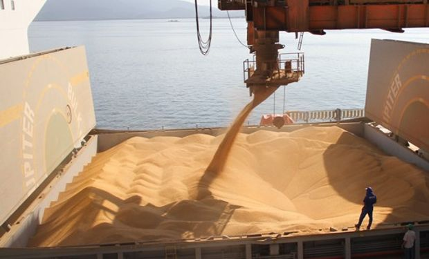 Exportaciones argentinas de trigo crecieron un 133%.