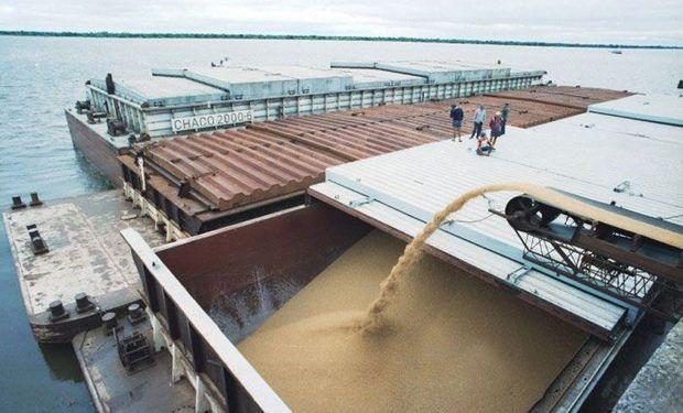 La exportación de trigo bate récords.