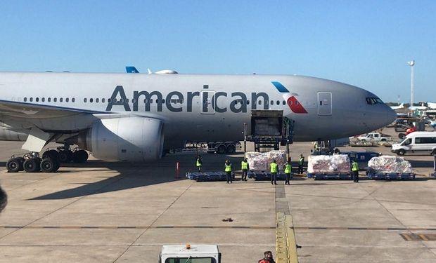American Airlines batió un curioso récord al transportar más de 400 toneladas de soja