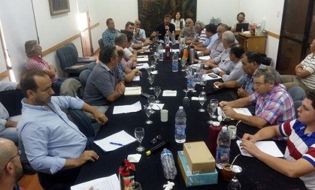 Este martes se llevó a cabo la reunión en Rosario.