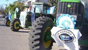 Federación Agraria debate en el Monumento de Alcorta las medidas a seguir