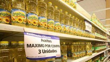 Vuelven a limitar la venta de aceite en los súper