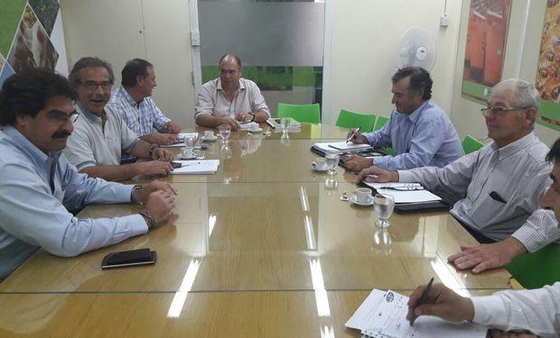 Federación Agraria con Sarquís.