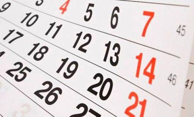 Feriados 2021: el Gobierno fijó los días puentes, conocé cómo queda el calendario
