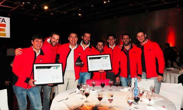 El Ing. Lisandro Tron estaba presente en la ceremonia junto con el equipo comercial y técnico de Fertec.