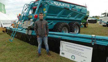 Una fertilizadora encaladora, premiada por innovación tecnológica en Uruguay