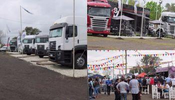 El transporte tuvo cita nacional en Pujato