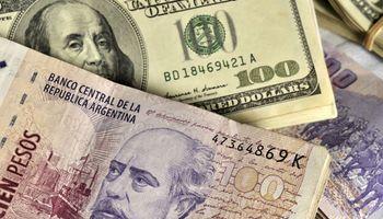 El dólar retrocede 10 centavos tras la inclusión de Argentina como mercado emergente