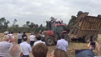Jujuy: así se festejó el fin de la zafra en el ingenio Ledesma