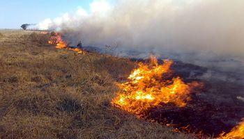 La Pampa: INTA indicó las zonas más propensas a incendios para la próxima campaña