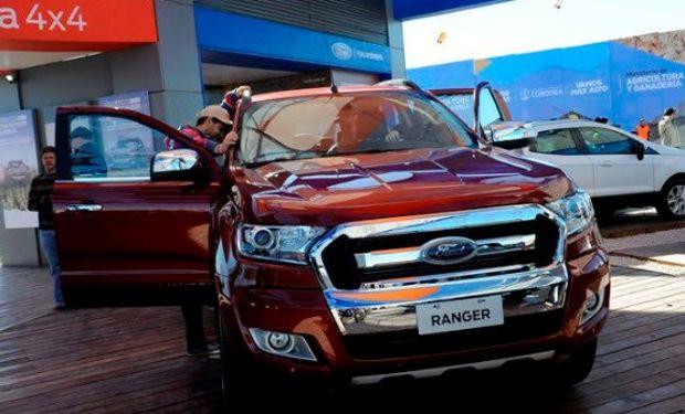 La Ranger será la vedette del stand de Ford.