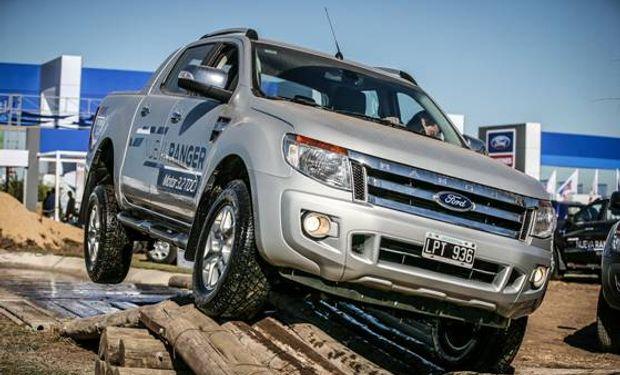 La propuesta de Ford contará con una pista 4x4 de 1500m² donde la nueva Ranger será la protagonista.