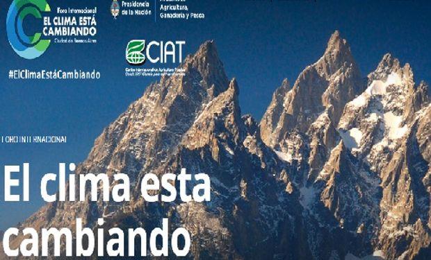 El próximo 2 de Julio se llevará a cabo el Foro Internacional sobre Cambio Climático en el Teatro Gran Rex de CABA.