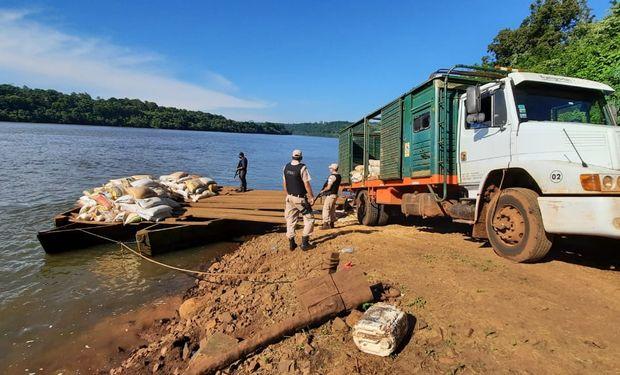 Secuestran 11 toneladas de soja sin documentación en Misiones